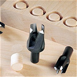 Veritas Metric Snug Plug cutter Set - 3 pce