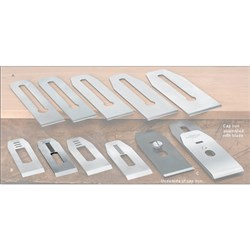 "Veritas® Blades made for Stanley/Record Block Planes - 35mm with 7/16"" slot"
