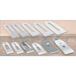 "Veritas® Blades made for Stanley/Record Block Planes - 41mm with 5/8"" slot"