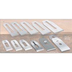 "Veritas® Blades made for Stanley/Record Block Planes - 41mm with 7/16"" slot"
