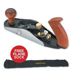 Veritas Small Bevel-Up Bench Plane - A2 with Free Plane Sock