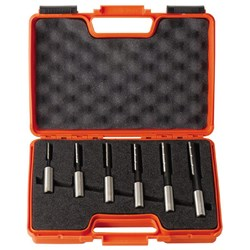 CMT 6 Piece Mortising Bit Set (Left Hand Rotation) - 16mm Shanks