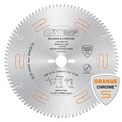 CMT Industrial Low Noise and Chrome Coated Saw Blade - 250mm - 80 Tooth