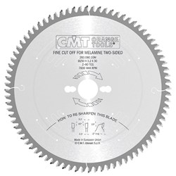 CMT Industrial Fine Cut-Off Blade - 250mm - 80 Tooth