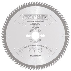 CMT Industrial Finishing Saw Blade - 400mm - 96 Tooth