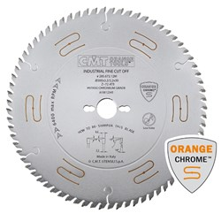 CMT Industrial Low Noise and Chrome Coated Blade - 350mm - 54 Tooth