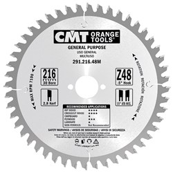 CMT Crosscut Saw Blade - 210mm