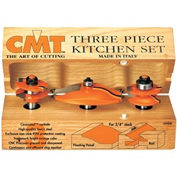 CMT 3 Piece Ogee KItchen Set
