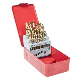 25 Piece Metric Brad Point Bit Set