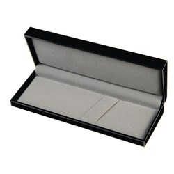 1 or 2 Place Plastic Pen Case - Pen Box Felt Lined