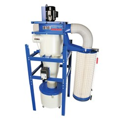 Carbatec Two Stage Cyclone Dust Extractor - 3 Ph, 3HP