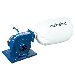 Carbatec Economy Single Bag Dust Collector - 1 HP