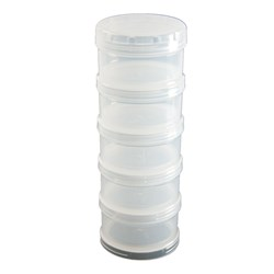 Plastic Container Stack - 30 x 55mm
