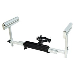 Drill Press Work Support Stand with Rollers