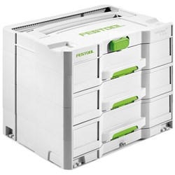Festool Sortainer T-Loc 3 Drawer Storage Box