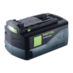 Festool 18v Li-Ion 5.2 Amph Airstream Battery Pack