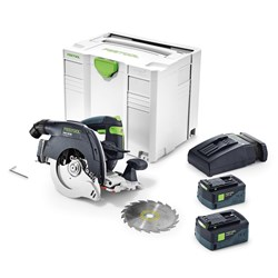 Festool HKC 55 160 mm Cordless Circular Saw Plus Li TCL 6