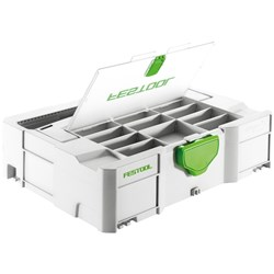 Festool Systainer SYS 1 with Lid Compartments