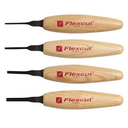 Flexcut 90Deg. Parting Micro Tool Set