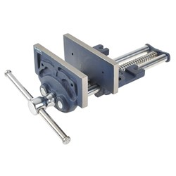 Groz 175mm Plain Screw Vice - Capacity 200mm