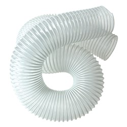 "2 metres of 4"" Clear Hi-Flex PVC Hose"