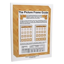 THE PICTURE FRAME GUIDE BOOK BY JERRY COLE