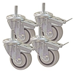 "Kreg 3"" Dual-Locking Caster Set(4)"