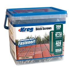 "Kreg Deck Screws 2"" Coarse - 700pc"