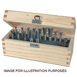 Leigh Solid Carbide Finger Joint Bit Set - For F2