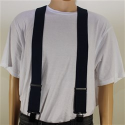 Casual Braces - Navy