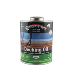 Organoil Decking Oil - 1ltr