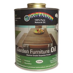 Organoil Garden Furniture Oil - 1ltr