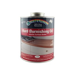 Organoil Hard Burnishing Oil - 1ltr