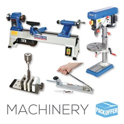 Pen Turners Pack: Mini Lathe, Bench Drill Press, Pen Press & Vise