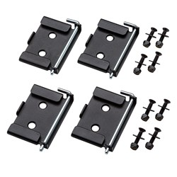 Rockler Quick-Release Workbench Caster Plates, 4-Pack