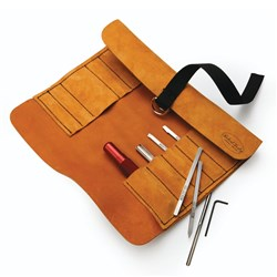 Robert Sorby Modular Micro Universal Set in Leather Tool Roll