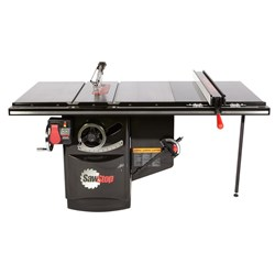 "SawStop Industrial Cabinet Saw with 36"" T-Glide Rail"