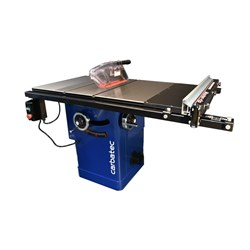 "Carbatec Professional 250mm Cabinet Saw with 30"" Hi-Lo Fence Kit"