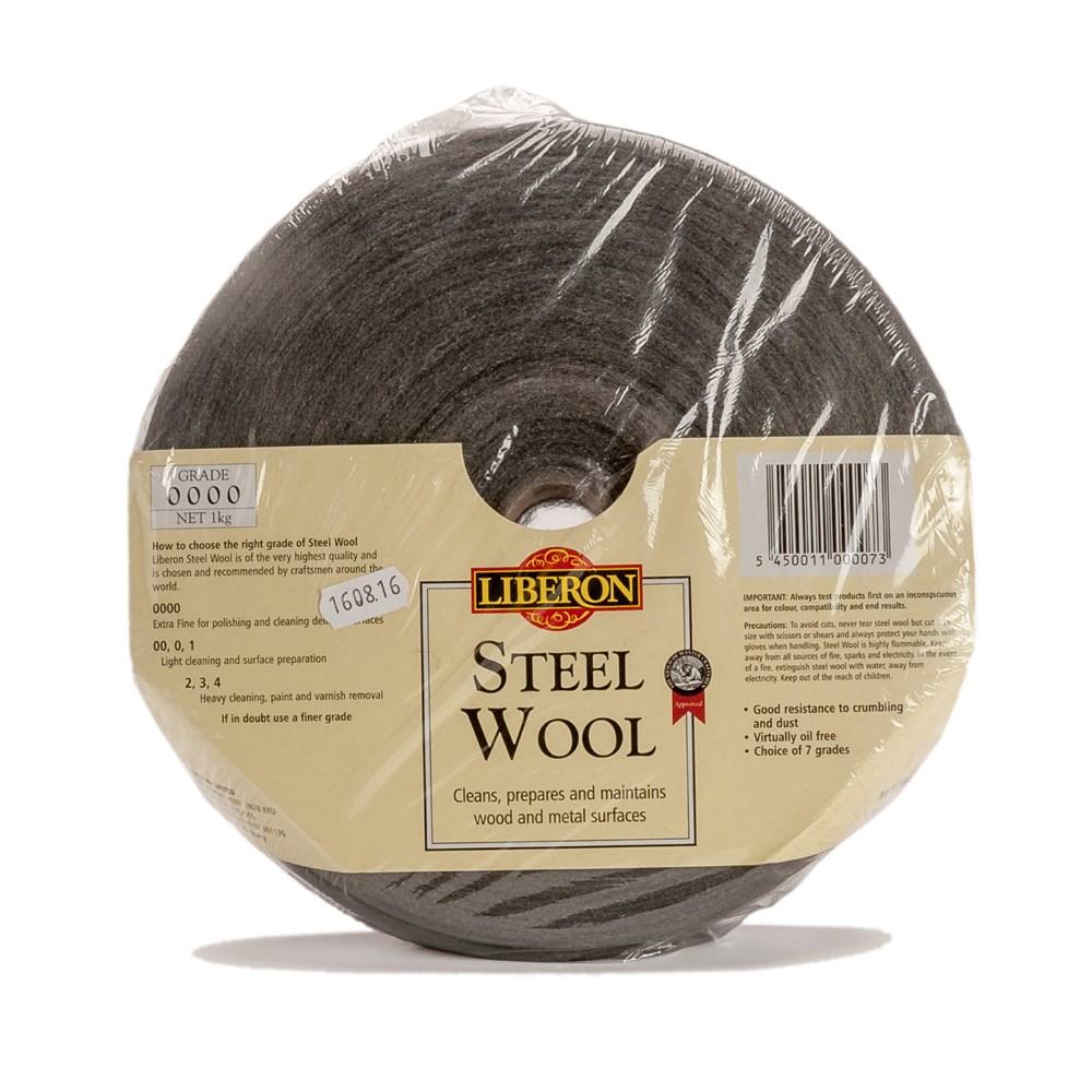 Liberon Steel Wool 1kg grade 4