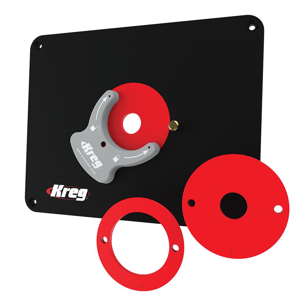Kreg router table insert plate predrilled for triton tra and mof kr prs40342g greentooth Gallery
