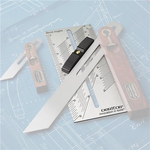 Veritas Bevel Setter with Metric Rule