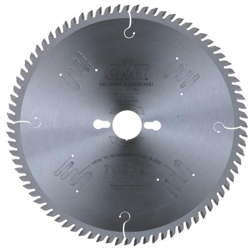 CMT Industrial Non-Ferrous Metal and Laminated Panel Blade - 250mm - 80 Tooth