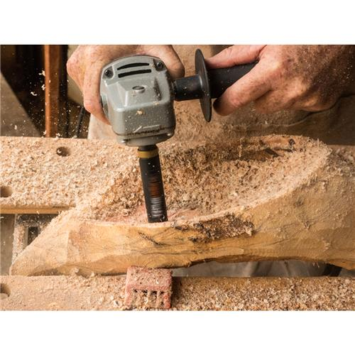 Arbortech TURBOShaft Freehand carving tool attachment.
