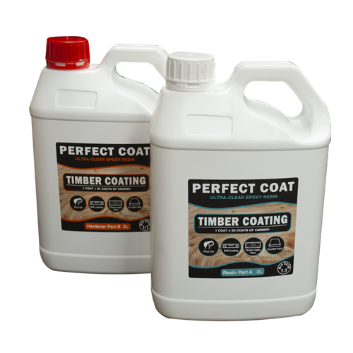 Perfect Coat 2 part Resin and Hardener - 4 litre Kit