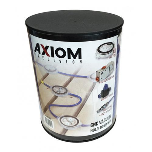 Axiom Precision CNC Vacuum Hold Down Kit
