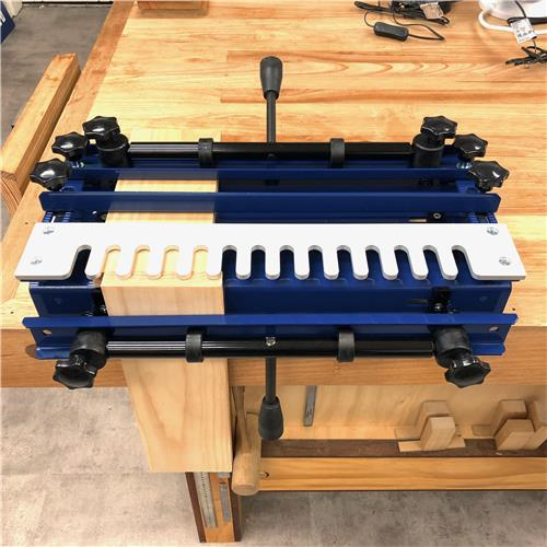 Carbatec Half Blind Dovetail Jig 300mm - with Router Bit