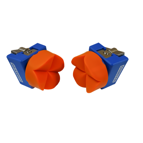 Graspego Clamp Heads for Bar Clamps and Hold Downs - 2 clamp heads