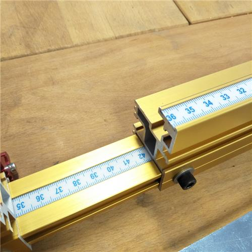 Incra Metric Scale - 410 mm - 820mm - Left
