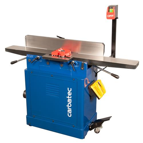 Carbatec 150mm Long Bed Jointer with Helical Cutterhead
