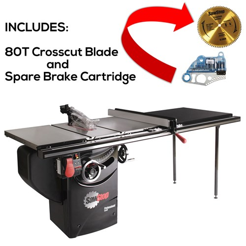 "SawStop PCS 52"" T-Glide Package Deal"